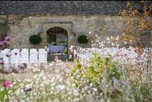 Outdoor Ceremonies / Saying I do under the picturesque ancient archway at Caswell House