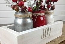Happy Holiday Decor / Just have fun with your family!  #decor #home #party #crafts #kids #desserts #foodie