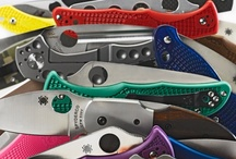 Knives / We love knives! This community knife board is dedicated to all things sharp.  Pin your favorite knife pictures (No swords or axes please).  We try not to have any duplicate pictures and please NO PICTURES WITH PRICES or ADS. Please avoid WHITE BACKGROUNDS and CHECK BEFORE YOU PIN as we usually delete duplicates. All images, unless otherwise noted, are taken from the internet and are assumed to be public domain.  Please make sure your posts are not offensive and SPAM free.