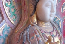 Statues ~ Large / At Sacred Stone Gallery we have a wide collection of in door and out door statues of Quan Yin, Buddha, Ganesh, Astarte, Green Tara and more. / by Sacred Stone Gallery
