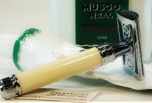 """Double-Edge Safety Razors / Double-Edge Safety Razors are the classic safety razors known by wet-shaving enthusiasts as the Best Shaving Razors for close, smooth, comfortable shaving. These Safety Razors expose the single edge of a double-edged blade to the face, just like a straight razor, but have either a """"straight-bar"""" or """"open-tooth-comb"""" that provides the safety-factor to prevent serious nicks or cuts."""