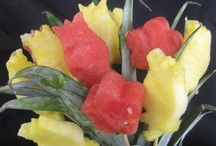 Edible flowers and bouquets
