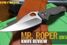 Knife Videos / Here you will find knife video reviews for 100's of knives. Please remember, purchasing anything through any of the links on our pins helps support OsoGrandeKnives.com and enables us to give you more new knife reviews and the best prices on your gear. All support is greatly appreciated!