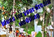 Dream Outdoor Weddings / Perfect lights for the perfect wedding! http://www.outdoor-lighting-centre.co.uk/