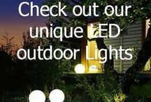 Outdoor LED Lighting / A selection of our favourite LED lights. http://www.outdoor-lighting-centre.co.uk/