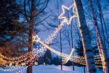 Christmas Lights / For those who need a little inspiration for the Christmas period. http://www.outdoor-lighting-centre.co.uk/