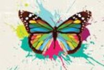 Butterflies and Ladybugs Facebook Covers / Do you like butterflies and ladybugs?