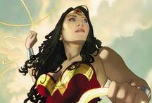 Comics: Wonder Woman / Diana, alongside her allies and enemies