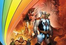 Comics: The Nine Realms / Marvel's heroes of Asgard and beyond, alongside their allies and enemies.
