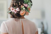 Wedding hair & hairpieces