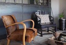 L O F T / #White Studio #interior #decor #loft #design #Industrial Style