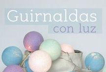 GUirNaldas CoN LuZ / Guirnalda con luz para iluminación de espacios interiores. Comprar Guirnaldas con luz:  http://ow.ly/QKPRz  #iluminación #decoración
