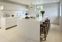 Case Study - bulthaup b3 kitchen by HobsonsChoice / A new, modern, high quality kitchen was to be the centre piece of the period property restoration project and our clients felt only bulthaup would meet their requirements. #bulthaup #kitchen #b3