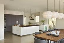 Case Study - bulthaup kitchen in modern lakeside home / hobsons|choice designed and installed a beautiful bulthaup b3 kitchen in a new lakeside development in the Cotswolds. With contrasting 'soft touch' lacquer and laminate cabinetry the kitchen is as eye-catching as it is functional.