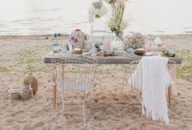 Bohemian stylish wedding