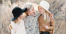 Familien-Outfits / Hallöle, hier findet Ihr einige Anregungen für farblich aufeinander abgestimmte Outfits für ein tolles Familienshooting :-) Auf jeden Fall ist es wichtig, daß Ihr unruhige Aufdrucke, wie große Köpfe, Figuren, Schriften etc. vermeidet.  Viel Spaß beim Durchblättern und liebe Grüße von Anne!