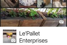 Le'Pallet Enterprises site / I like to build any thing using recycled pallets, follow my page and my journey for tips, ideas and my projects
