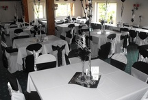 Black Bows - Chair Covers