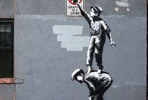 ART - STREET ADORATION / street art - graffiti - sidewalk chalkings - public delights