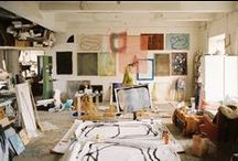 STUDIOS & CREATIVE SPACES / creative spaces and studios where art is born