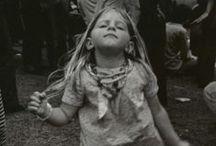 FLOWER CHILD / Flower children & hippies - past thru present