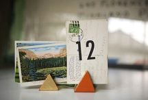 Seating cards & Table numbers ♥♥♥