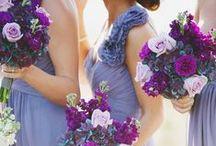 purple wedding ♥♥♥