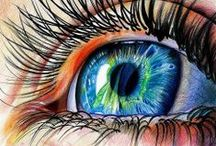 Eye Drawing Painting / #eye #drawing #painting #howto #realistic #sketch