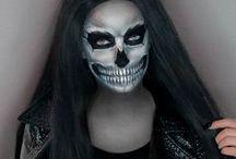 My Halloween Makeups / My makeup ideas for Halloween :) I hope you like it  #makeup #halloween #makijaz #noemisparkle #noemimakeup #makeupartist #art #bodypainting #skull #blood #skeleton #