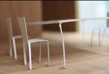 tiny / tiny architectural furniture models, interiors