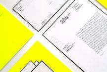 stationary designs / Inspiring & creative stationary designs.