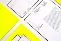 stationary designs / Inspiring & creative stationary designs.