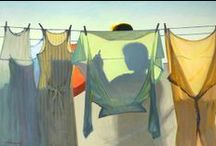 Monday's Washing Day / Well it was back in the days of stay at home mums ...