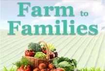 Farm to Families / Farm to Families is a program through 1st Quality Produce delivering California pre-selected farm fresh produce boxes to families throughout the Fresno, CA area!