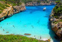 Moodbord Mallorca / In de mood komen voor onze vakantie naar Mallorca!