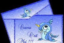 Armony Cartes Souhaits / Les Créations Armony sur mes Cartes Souhaits