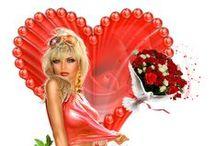 Armony Slats ST-Valentin / Slats St-Valentin coeur des Créations Armony