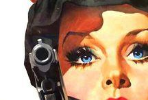 ART - PULP & VINTAGE ILLUSTRATIONS / Pulp,  vintage,  retro art and illustrations
