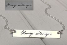 Wearables & Keepsakes / Using your own personal touch to create wearable meaningful products