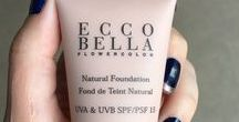 Beauty School / Beauty Tips and Tricks and How-Tos Using Ecco Bella Natural and Organic Vegan Cosmetics.