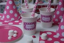 J&B The Perfect Pink Party / All things pretty and pink for any little princesses party #Pink #Party #Entertainment #Birthday