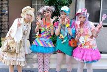 InspiredBy: Japanese Street Style / Includes inspiration for the AQA GCSE Textiles Controlled Assessment design brief