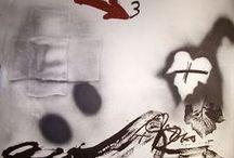 Antoni Tàpies / Obra gráfica (grabados, litografías y serigrafías) de Antoni Tàpies en venta. No se conforme con reproducciones compre originales firmados y numerados a mano.  Web: www.grabados-chillida.com Consultas: grabados-chillida@grabados-chillida.com