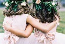 Bridesmaids & Flower Girls