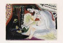 Pablo Picasso / Obra gráfica (grabados aguafuertes) de Pablo Picasso en venta. No se conforme con reproducciones compre originales firmados y numerados a mano.