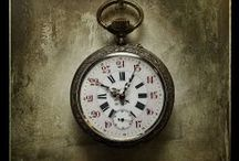Time Keeps Ticking / All things that keep time.  Watches.  Clocks.  Vintage Time Keepers.  Wall Clocks.  Time Pieces.  Clock Brooches.