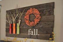 Autumn Wonders / Lovely pins that reflect all things wonderful about the autumn season.