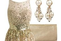Nighttime Glamour / Glamorous evening wear for a total glam look!