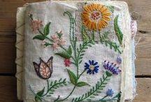 embroidery - plants / Sticken - Pflanzen / by Faden.Design. Christine Ober