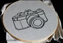 embroidery - technology / Sticken - Technik / by Faden.Design. Christine Ober
